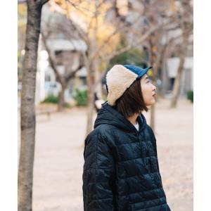 nakota ナコタ 撥水ナイロンフライトキャップ アビエイターキャップ 帽子 メンズ レディース ボア 防寒 冬|nakota|04
