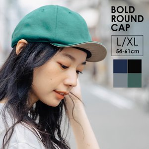 キャップ 帽子 nakota ナコタ BOLD ROUND CAP ベースボールキャップ 大きいサイズ|nakota