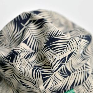 nakota ナコタ ボタニカルリーフバケットハット 帽子 アウトドア 総柄 コットン リネン メンズ レディース ユニセックス|nakota|06