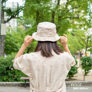 バケットハット 帽子 大きいサイズ nakota ナコタ ボタニカルリーフ ハット メンズ レディース|nakota|10