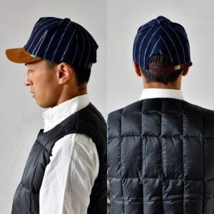 nakota ナコタ メルトンショートトリップキャップ 帽子 ストライプ ウール 秋 冬 旅 メンズ レディース ユニセックス|nakota|06