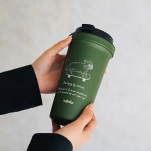 nakota × moca ナコタ モカ タンブラー 蓋付き こぼれない 保冷 保温 耐熱 コーヒー アウトドア プレゼント ギフト オフィス|nakota|09