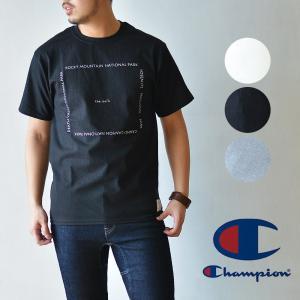 ch Standard(ランチスタンダード)×Champion(チャンピオン) The Park TEE Tシャツ 半袖 ユニセックス|nakota