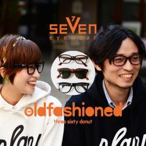 SE7EN eyewear(セブンアイウェア) three sixty donut park vol17 メガネ アイウェア プレイデザイン サングラス nakota