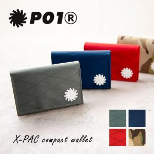 PLAY DESIGN X-PAC WALLET 財布 コンパクト 三つ折り 小さい 丈夫 軽い 薄い 防水 メンズ レディース|nakota