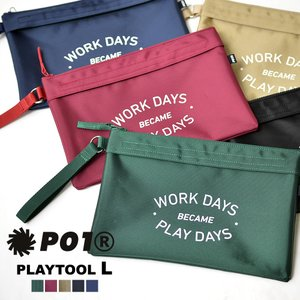 P01 ( プレイ ) PLAYTOOL L ポーチ 収納ポーチ|nakota