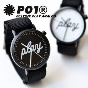 PLAY DESIGN (プレイデザイン) P01TIME PLAY ANALOG プレイ アナログ ロゴ 腕時計 時計 小物 メンズ レディース セール|nakota