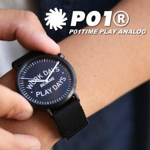 PLAY DESIGN (プレイデザイン) P01TIME WDBPD ANALOG プレイ アナログ 腕時計 時計 小物 メンズ レディース セール|nakota