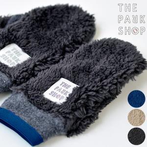 THE PARK SHOP (ザ・パークショップ) RESERCH GLOVE グローブ 手袋 キッズ ミトン ジップ付き  防寒 暖かい|nakota