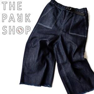 デニムパンツ ワイド ビッグ キッズ 子供用 ストレッチ THE PARK SHOP(ザ パークショップ) BIGBOY PANTS|nakota