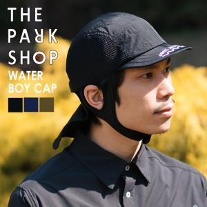 THE PARK SHOP(ザ パークショップ)WATERBOY CAP 帽子 キャップ キッズ 子供用 アウトドア 水陸両用 海 川 山|nakota