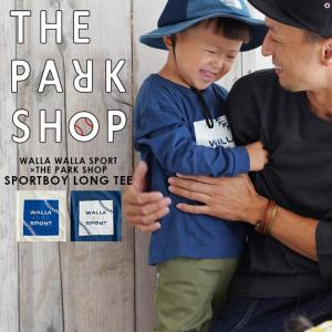 THE PARK SHOP × WALLA WALLA SPORT ザパークショップ ワラワラスポーツ SPORTSBOY ロングスリーブTシャツ|nakota