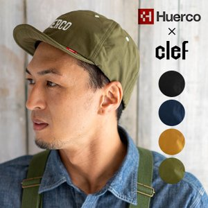 Huerco フエルコ × CLEF クレ Collabo B.CAP 帽子 キャップ ベースボール メンズ レディース 釣り アウトドア キャンプ|nakota