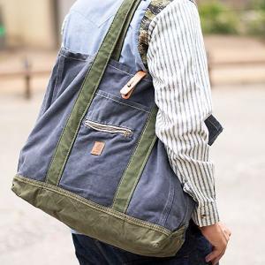 ユーズド リメイク ワーク トート バッグ 鞄 表情豊かな個性派アイテム。世界に1つだけのリメイクバッグ☆ nakota