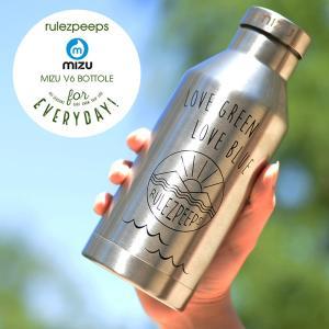 MIZUボトル V6 rulezpeeps ルールズピープス ミズボトル ウォーターボトル ステンレスボトル 水筒 保冷 保温 スポーツ|nakota