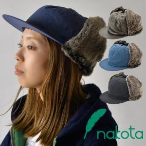 nakota ナコタ ナイロンフラップキャップ 帽子 メンズ レディース|nakota