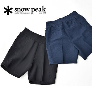 snow peak スノーピーク ボトムス メンズ ホールガーメント ストレッチ ニット ショーツ レディース ギフト 通気性 軽量|nakota