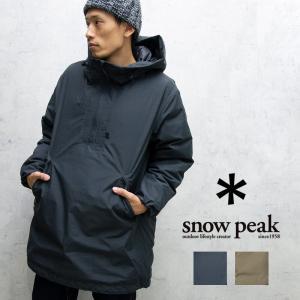 snow peak スノーピーク ファイヤーレジスタンスプルオーバー アウター ジャケット 防寒 冬 軽量 メンズ|nakota
