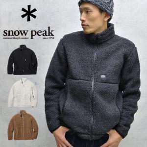 snow peak スノーピーク ウールフリースジャケット アウター 軽量 防寒 冬 メンズ レディース|nakota