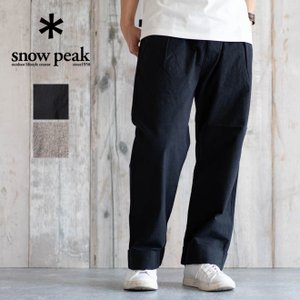 snow peak スノーピーク NORAGI Pants 野良着 パンツ ボトムス メンズ 大きいサイズ アウトドア 竹 通気性 無地 カジュアル 春 夏 日本製|nakota