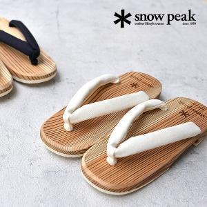 snow peak ( スノーピーク ) 日田下駄 げた サンダル シューズ レディース 和装 日本製|nakota