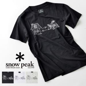 snowpeak スノーピーク グラフィティ ホームテント Tシャツ|nakota