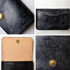 RE.ACT リアクト Bridle Leather Card Case カードケース 名刺入れ 定期入れ レザー ブライドルレザー プレゼント ギフト ビジネス パス PAS|nakota|03
