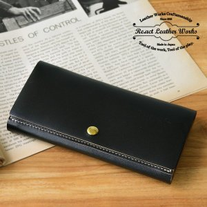 RE.ACT(リアクト)Oil Combi Leather Long Wallet レザーロングウォレット 長財布 日本製 本革 ギフト|nakota