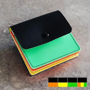 Re-ACT リアクト Awake Bellows Compact Wallet アウェイクレザーコンパクトウォレット 財布  本革 日本製 メンズ レディース 小銭入れ|nakota