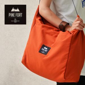 PINE FORT ( パインフォート) Corve Tote Bagトートバッグ ショルダーバッグ メンズ レディース 男女兼用|nakota