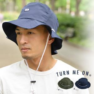 ナイロン パッカブル ハット 帽子 メンズ レディース サファリハット サーフハット turn me on ターンミーオン ギフト プレゼント セール|nakota