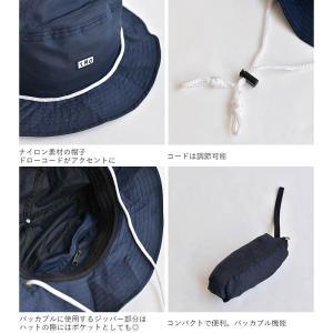 ナイロン パッカブル ハット 帽子 メンズ レディース サファリハット サーフハット turn me on ターンミーオン ギフト プレゼント|nakota|03