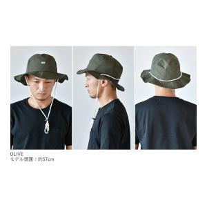 ナイロン パッカブル ハット 帽子 メンズ レディース サファリハット サーフハット turn me on ターンミーオン ギフト プレゼント|nakota|04