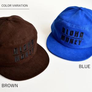 turn me on ターンミーオン ALOHA/MONEYフランネルキャップ 帽子 メンズ レディース ユニセックス 刺繍 アロハ マネー|nakota|02