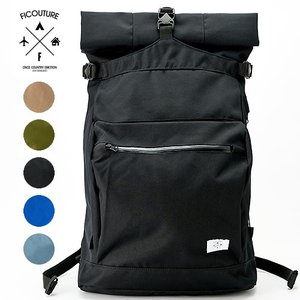 FICOUTURE ( フィクチュール ) Rolltop Day Pack デイパック バッグパック バッグバッグ リュック かばん 鞄|nakota