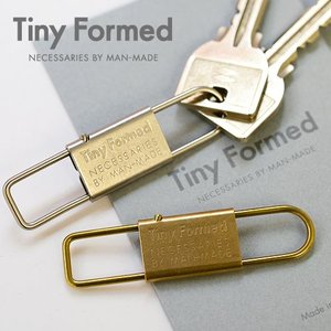 Tiny Formed ( タイニーフォームド ) Tiny metal key shackle キーホルダー 日本製 カラビナ|nakota