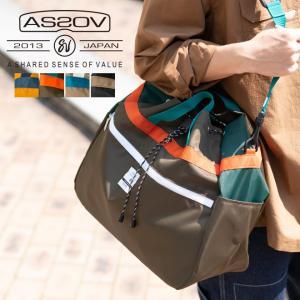 AS2OV アッソブ NYLON TWILL DRAW STRING SHOULDER ショルダーバッグ 撥水 巾着 かばん 鞄 メンズ レディース|nakota
