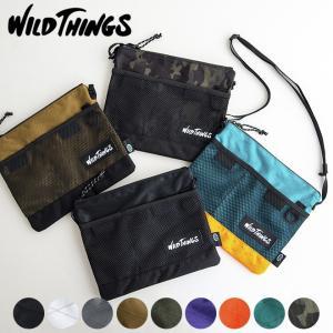 WILD THINGS ワイルドシングス X-PAC サコッシュ バッグ ショルダー カバン メンズ レディース ユニセックス フェス 野外 イベント アウトドア スポーツ|nakota