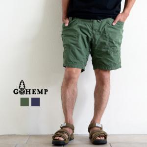 GOHEMP ゴーヘンプ VENDOR CHILL SHORTS ベンダーチルショーツ パンツ ヘンプ コットン 30 32 34 メンズ レディース nakota