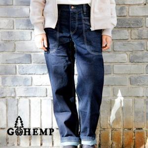 GOHEMP ゴーヘンプ VENDOR BASIC PANTS ベンダーパンツ デニム ワンウォッシュ メンズ レディース|nakota