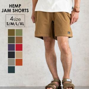GOHEMP ゴーヘンプ HEMP JAM SHORTS ヘンプジャムショーツ 短パン メンズ レディース 大きいサイズ 春 夏 nakota