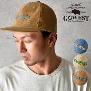 GOWEST ゴーウェスト VENICE CAP/14w SUMMER CORDUROY 帽子 キャップ サマーコーデュロイ 春 夏 メンズ レディース|nakota