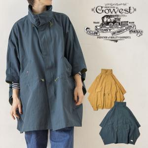 GOWEST ゴーウェスト WOOD STOCK JACKET ウッドストックジャケット ポンチョ 60/40クロス 防風 メンズ レディース|nakota