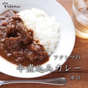 福島肉店 フクシマの牛煮込みカレー 200g 辛口|namahage-takuhaibin