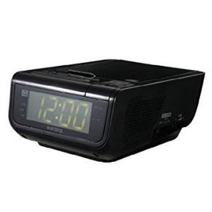 WINTECH ウインテック  アラーム付きCDクロックラジオ CDC-210 ブラック