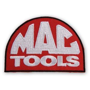 【ワッペン】MACTOOLS(マックツール) ロゴ ワッペン(MACTOOLS Patch)|nammara-store
