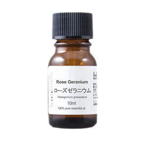 【アロマオイル】ローズゼラニウム エッセンシャルオイル【10ml】|nammara-store