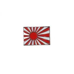 【日本国】旭日旗(十六条旭日旗) ピンバッジ|nammara-store