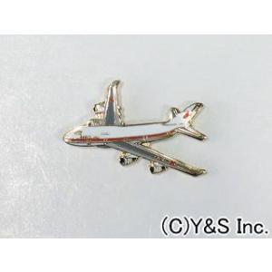 【航空自衛隊】政府専用機(特別航空輸送隊)B-747機体ピンバッジ|nammara-store