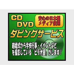 【街のビデオ屋が作業します!】CD/DVDダビング|nammara-store